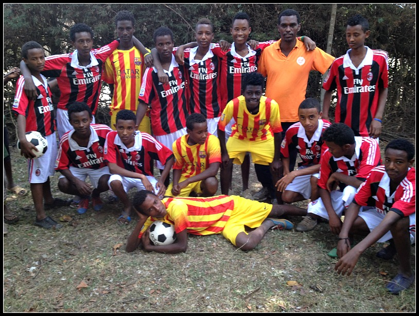 Sports Project Gets Vulnerable Ethiopian Youth Up and Running!